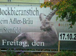 Werbeplane | Adler Bräu