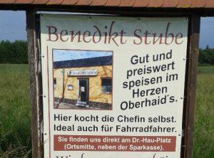 Werbeplane | Benedikt Stube | Oberhaid