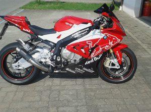 Fahrzeugbeschriftung   BWM Motorrad