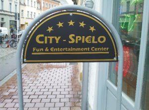 Schilder | City Spielo Bamberg