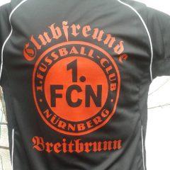 Raithel Werbetechnik und Textildruck - Clubfreunde Breitbrunn - Textildruck