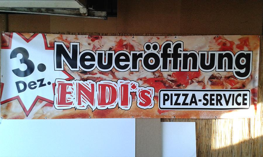 Raithel Werbetechnik und Textildruck - Endis Pizzaservice
