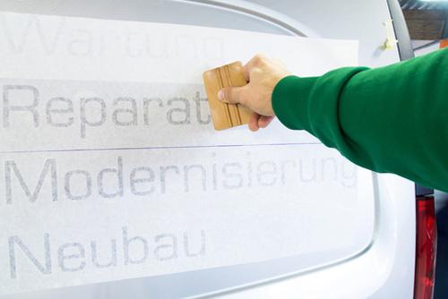 Raithel Werbetechnik und Textildruck - Fahrzeugbeschriftung