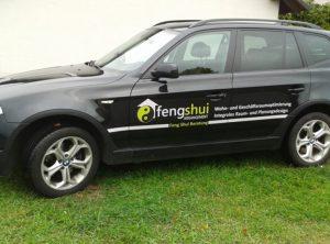 Fahrzeugbeschriftung | Feng Shui Arrangement | Bischberg