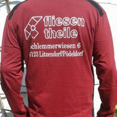 Raithel Werbetechnik und Textildruck - Fliesen Theile - Textildruck