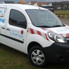 Raithel Werbetechnik und Textildruck - Gemeinde Oberhaid - Fahrzeugbeschriftung