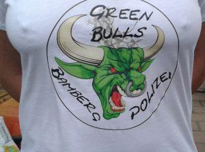 Textildruck | Green Bulls Bamberg Polizei