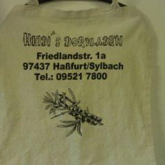 Raithel Werbetechnik und Textildruck - Heidis Dorfladen - Stofftasche - Textildruck