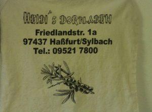 Textildruck | Heidis Dorfladen | Hassfurt