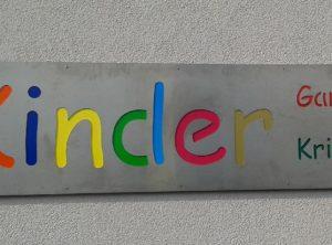 Außenschild | Kindergarten und -krippe | Staffelbach