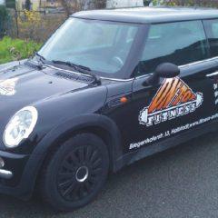Raithel Werbetechnik und Textildruck - OnTop Fitness - Fahrzeugbeschriftung