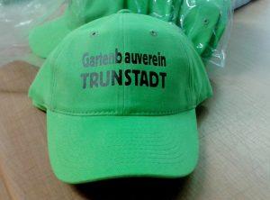 Basecap Textildruck | Gartenbauverein Trunstadt