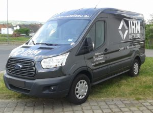 Fahrzeugbeschriftung | IHM Metallbau | Staffelbach