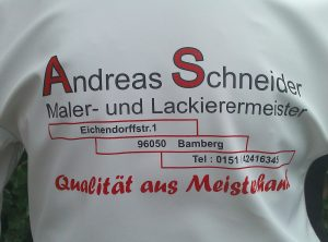 Textildruck | Andreas Schneider – Maler- und Lackiermeister aus Bamberg