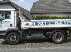 Fahrzeugbeschriftung   Deinhart Bauunternehmen   Oberaurach/Trossenfurt