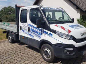 Fahrzeugbeschriftung | Deinhart Bauunternehmen | Oberaurach/Trossenfurt