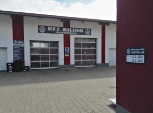 Aludibondschilder | KFZ Kilian Meisterbetrieb | Burgwindheim