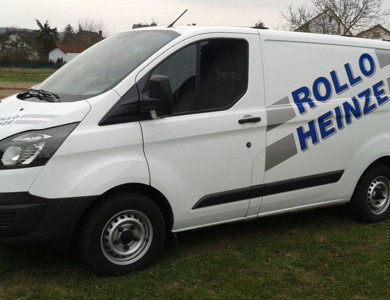 Raithel Werbetechnik und Textildruck - Rollo Heinze - Gundelsheim - Fahrzeugbeschriftung