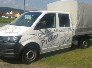 Fahrzeugbeschriftung | Gartenbaumschule Preller | Bamberg