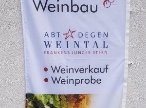 Fahne | Weinbau Auer | Unterhaid