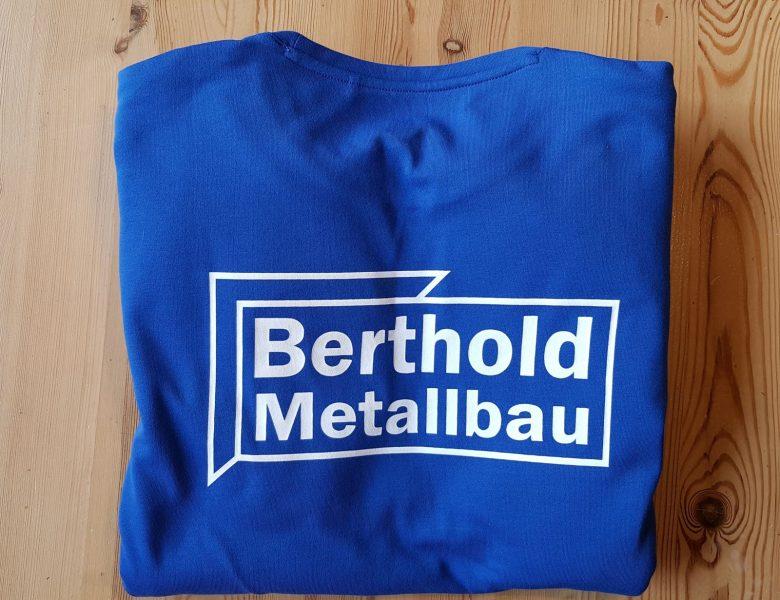 Raithel Werbetechnik und Textildruck - Textildruck - Siebdruck auf Arbeitssweater - Fa. Russell