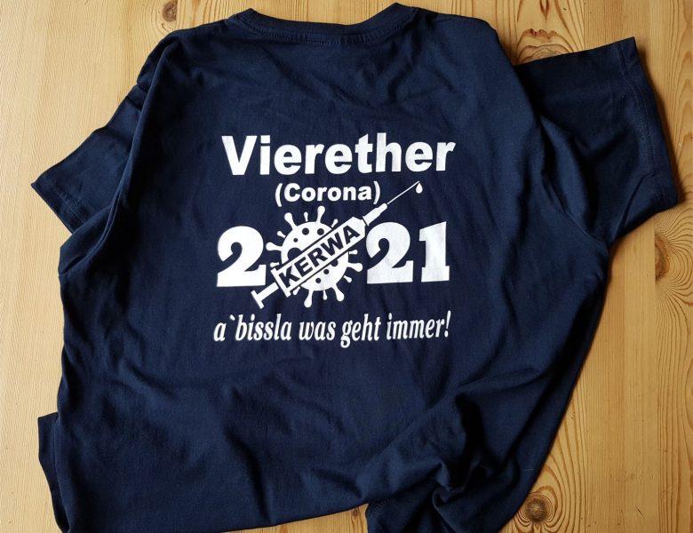 Raithel Werbetechnik und Textildruck - Textildruck - Vierether Kerwa 2021 - T-Shirt bedrucken - B&C