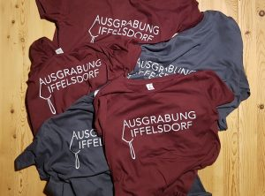Textildruck | Ausgrabung Iffelsdorf | Bamberg