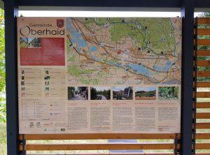 Beschilderung   Rastplatz Gemeinde Oberhaid   Oberhaid/Unterhaid