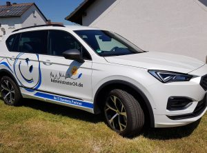 Fahrzeugbeschriftung | Administrator24.de | IT Spezialist | Bischberg/Bamberg/Trosdorf
