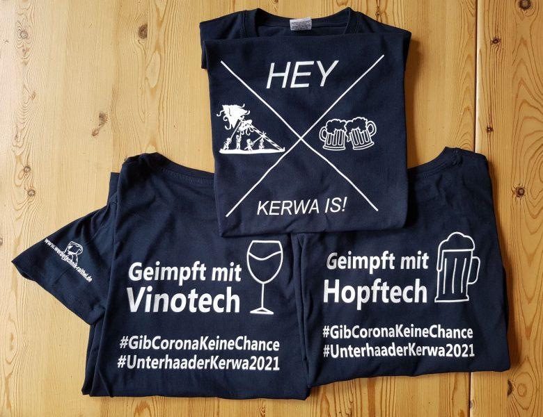 Raithel Werbetechnik und Textildruck - Unterhaider Kerwa - T-Shirt-Druck  - Siebdruck - Flexplott
