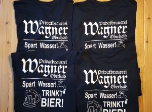 T-Shirt-Druck | Brauerei Wagner | Oberhaid