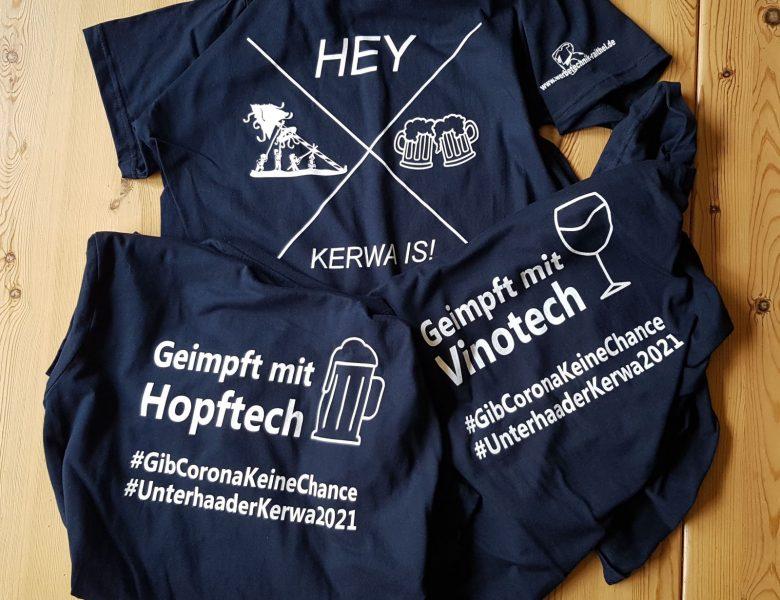Raithel Werbetechnik und Textildruck - Unterhaider Kerwa - T-Shirt bedrucken - Siebdruck